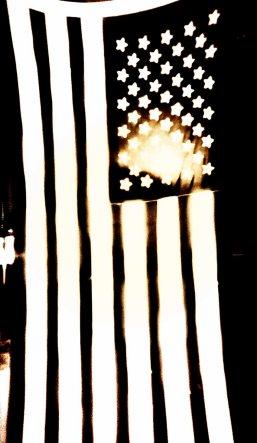 Portrait: American Flag